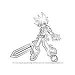 How to Draw Lord Knight from Elsword