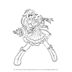 How to Draw Rena from Elsword