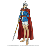How to Draw Alva from Fire Emblem