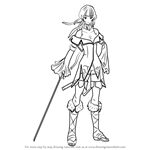 How to Draw Athena from Fire Emblem