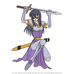 How to Draw Ayra from Fire Emblem