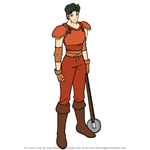 How to Draw Beck from Fire Emblem
