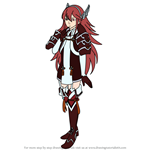 How to Draw Caeldori from Fire Emblem