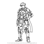 How to Draw Cain from Fire Emblem