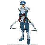 How to Draw Castor from Fire Emblem