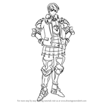 How to Draw Clive from Fire Emblem