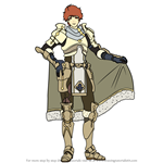 How to Draw Conrad from Fire Emblem