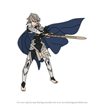 How to Draw Corrin from Fire Emblem