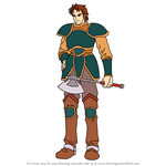 How to Draw Dalsin from Fire Emblem