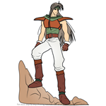 How to Draw Dean (Thracia 776) from Fire Emblem