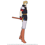 How to Draw Delmud from Fire Emblem