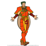 How to Draw Devdan from Fire Emblem