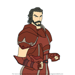 How to Draw Duessel from Fire Emblem