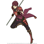 How to Draw Echoes Lukas from Fire Emblem