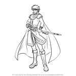 How to Draw Eliwood from Fire Emblem