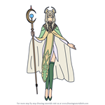 How to Draw Emmeryn from Fire Emblem