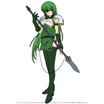 How to Draw Erinys from Fire Emblem