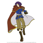 How to Draw Erk from Fire Emblem