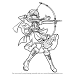 How to Draw Faye from Fire Emblem