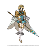 How to Draw Fjorm from Fire Emblem