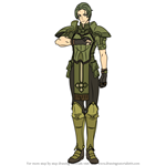 How to Draw Forsyth from Fire Emblem
