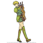 How to Draw Franz from Fire Emblem