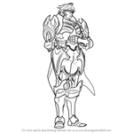 How to Draw Frederick from Fire Emblem