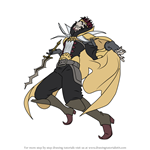 How to Draw Gangrel from Fire Emblem
