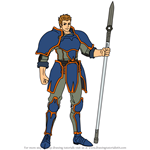 How to Draw Gatrie from Fire Emblem