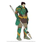 How to Draw Gilliam from Fire Emblem