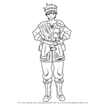 How to Draw Gray from Fire Emblem