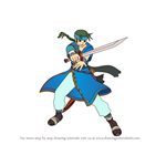 How to Draw Guy from Fire Emblem