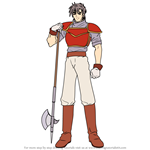 How to Draw Hicks from Fire Emblem