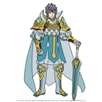 How to Draw Hrid from Fire Emblem