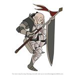 How to Draw Ignatius from Fire Emblem
