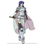 How to Draw Isadora from Fire Emblem