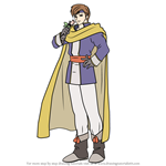 How to Draw Iuchar from Fire Emblem