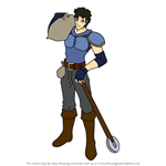 How to Draw Jake from Fire Emblem