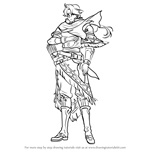 How to Draw Jeorge from Fire Emblem