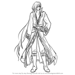 How to Draw Karel from Fire Emblem