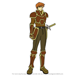 How to Draw Kent from Fire Emblem