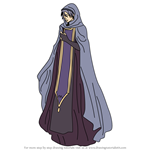 How to Draw Knoll from Fire Emblem