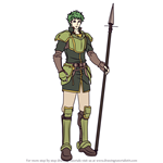 How to Draw Kyle from Fire Emblem
