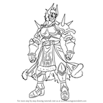 How to Draw Legion from Fire Emblem
