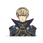 How to Draw Leo from Fire Emblem