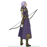 How to Draw Leon from Fire Emblem