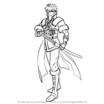 How to Draw Lon'qu from Fire Emblem