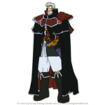 How to Draw Lorenz from Fire Emblem