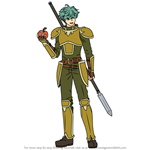 How to Draw Lowen from Fire Emblem