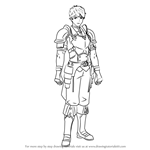 How to Draw Lukas from Fire Emblem